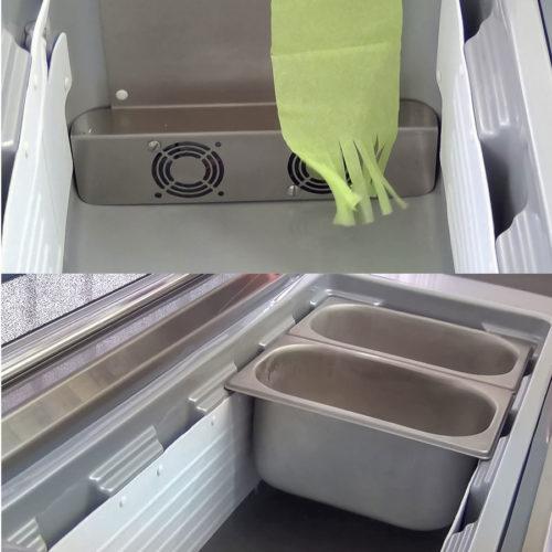 gelato storage freezer