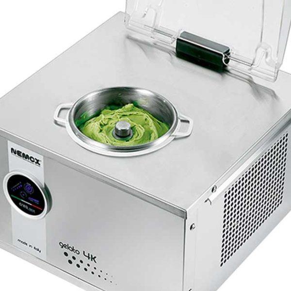 commercial gelato machine 4k touch