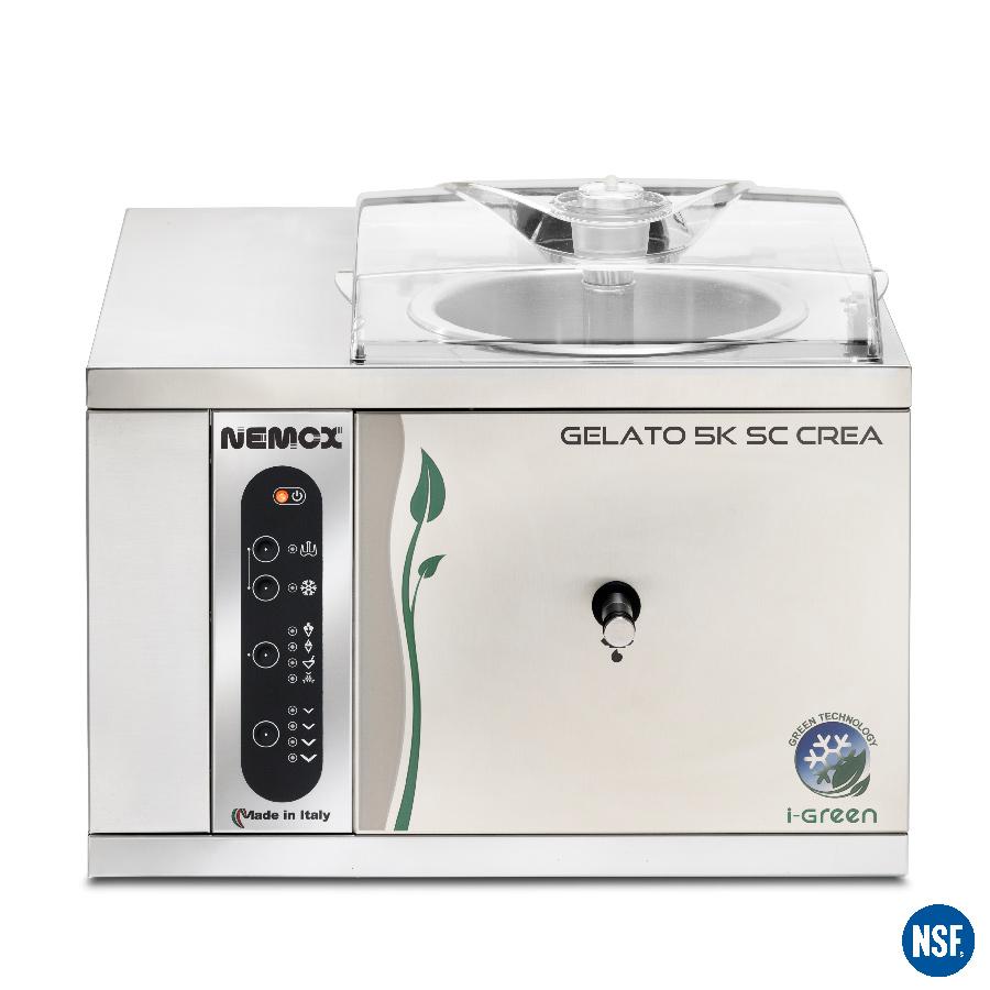 gelato 5k crea sc i-green frontale