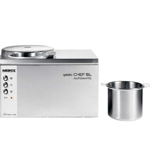 italian gelato machine chef 5l