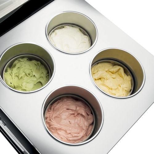 gelato showcases